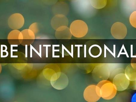 Intentional Instead of Impulsive