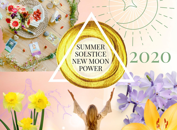 Come Celebrate Summer Solstice 2020 + The New Moon With A Sacred Ritual