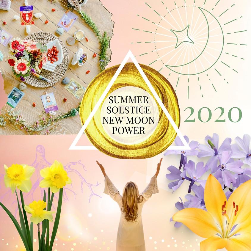LIVE Stream Kundalini Yoga & New Moon Ritual | Summer Solstice