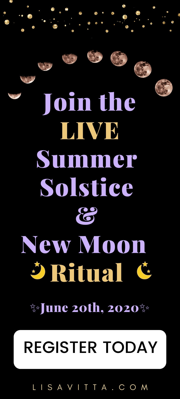 Summer Solstice 2020 and New Moon Ritual June 20th 2020