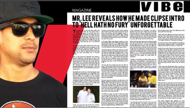 Mr Lee Sanchez interview for the Rap Gro