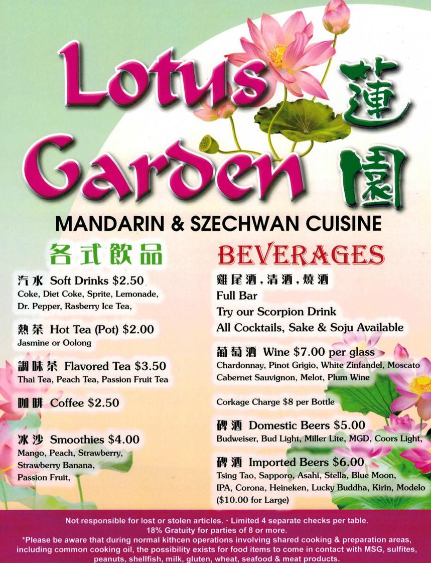 Menu2 Lotusgarden