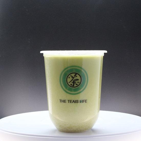 茉香ㄧ點綠/Jasmine milk tea