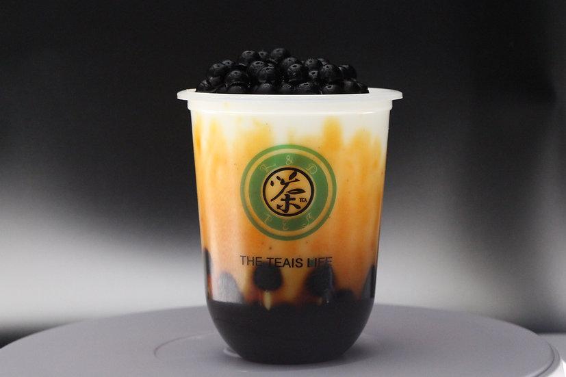 焰遇波霸黑糖鮮奶/Brown sugar bubble milk tea