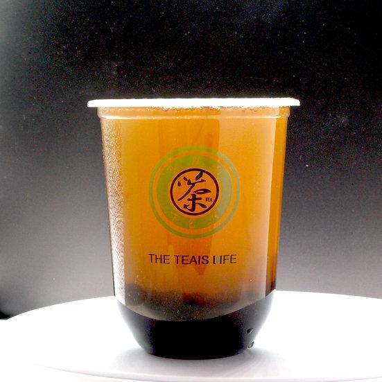 波霸醇綠茶/Bubble green tea