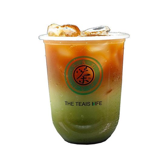 抹茶拿铁/Green tea latte