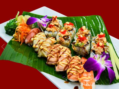 Hvordan bestille Sushi
