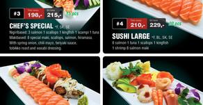Åpent i Pinsen 2018 - Sushi City Wok