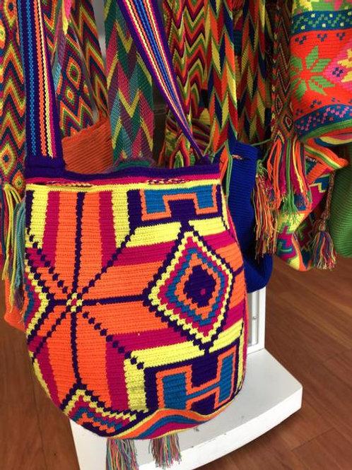 Handmade Multicolor Bucket Purse