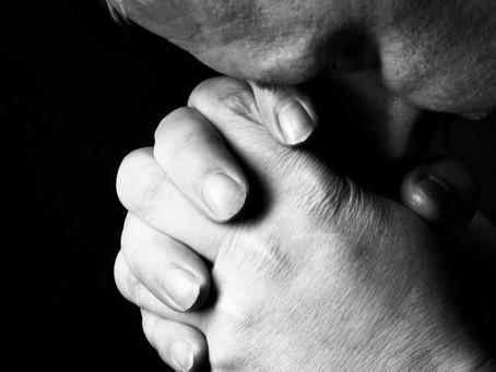 My prayer life... needs improvement