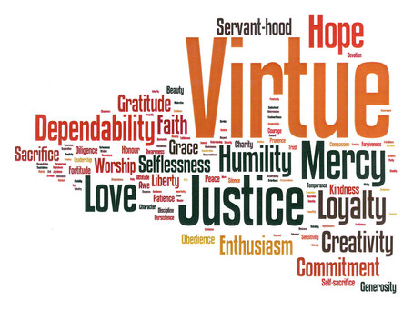 "Are ""Virtues"" still relevant? Yes!"