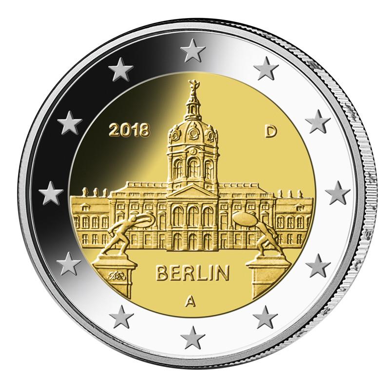2 Euro, Cu/Ni, Ausgabetag: 30. Januar 2018, Quelle: Bundesfinanzministerium