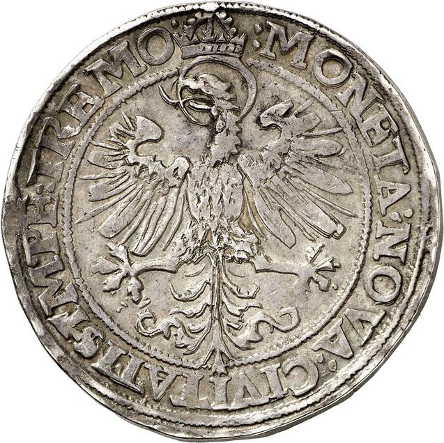 Nr. 3527: Dortmund. Reichstaler 1564. Aus Auktion Schulman 225 (1955), Nr. 1598. Äußerst selten. Taxe: 50.000,- Euro