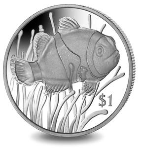 1 Dollar, Cu/Ni, Auflage: 10.000 Ex., Quelle: Pobjoy Mint