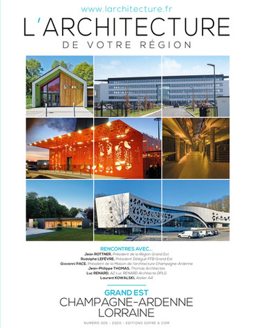 """Revue """"Larchitecture de votre Région"""""""