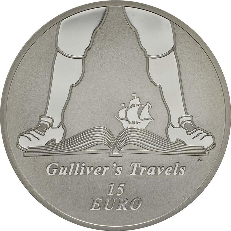15 Euro, 925/1000 Silber, Auflage: 2.000 in PP, Quelle: Münzenhandel Honscha, emuenzen.de