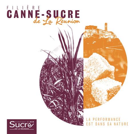 """Brochure 16 pages """"Syndicat du Sucre de La Réunion"""""""