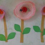 cupcake holder flower