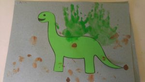 Dinosaur themed art activities