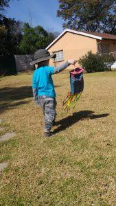 paper bag kite