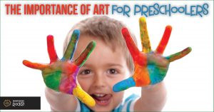 The importance of art for Pre-Schoolers