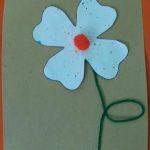 spatterpaint flower