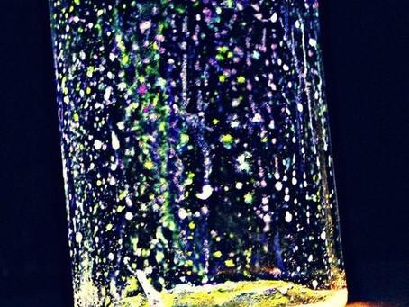 Magic glow jar