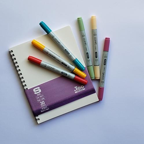 Kit para Dibujo e Ilustración Copic