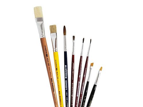 Kit de Pinceles Básico N°2 - Tigre Linea Artística