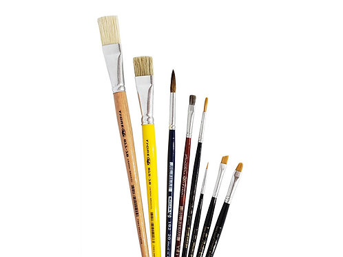 Kit de Pinceles Básico Nº1 - Tigre Linea Artística