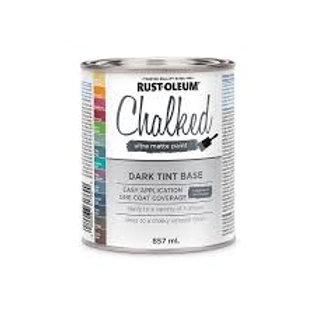 Base Entintable Oscura 0,857 L  Chalked Rust Oleum