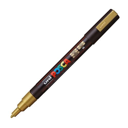 Marcador Uni Posca 1.3 mm Oro