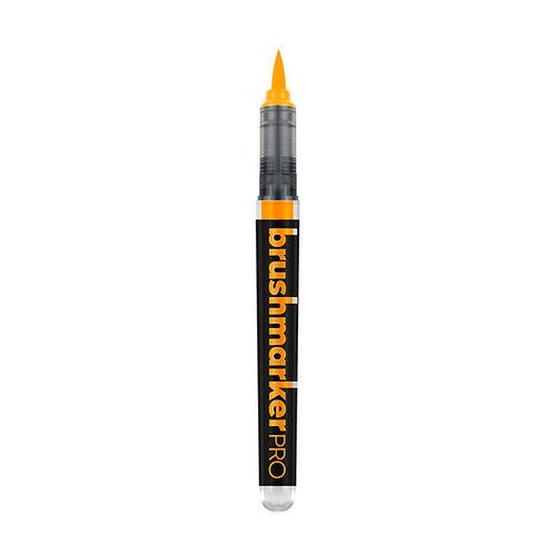 Marcador Karin Brushmarker PRO -Naranja Fluor 6120