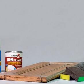 RECICLAR MADERAS / Cómo preparar la madera antes de pintar