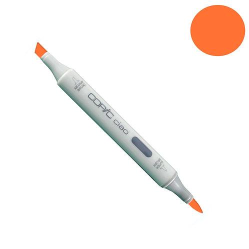 Marcador Copic Cio Cadmium Orange