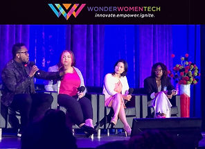 Liem Le speaks on innovation at Wonder Women Tech