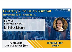Liem Le speaks on Diversity & Inclusion