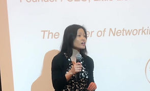 Liem Le speaking Power of Networking is Giving