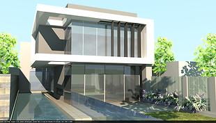 Toorak architectural house design
