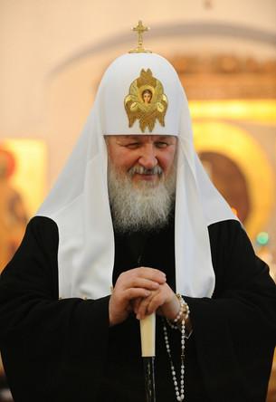 Посещение храма Святейшм Патриархом Кириллом