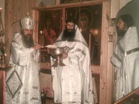 24 года с момента первой Литургии в нашем храме после возвращения
