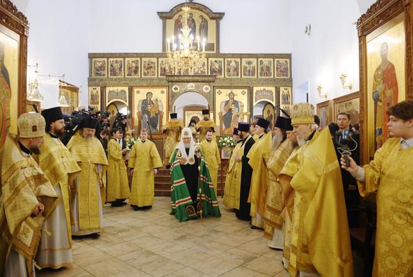 Великое Освящение Храма Патриархом Кириллом 10.03.19