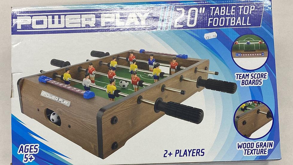 "Power Play  - 20"" Table Top Football"