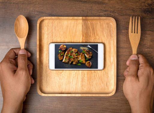 Fotografia de gastronomia e Instagram uma combinação perfeita