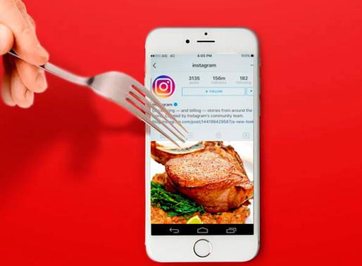 Ações de Marketing para Restaurantes no Instagram
