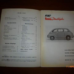 Fiat 600D Mulitpla