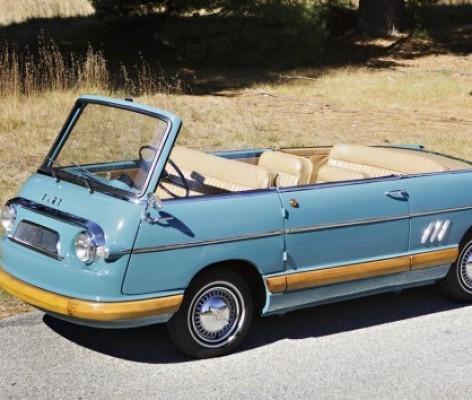 1956 Mirafiori Cabriolet