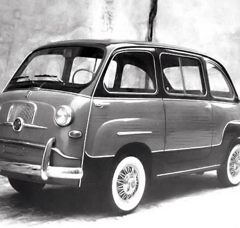 1956 Scioneri Furgone