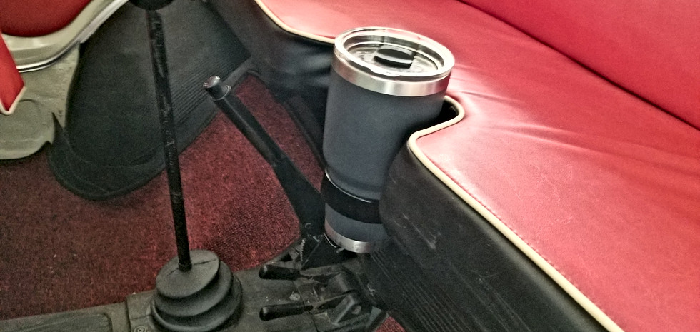 Prototype Cup Holder Installed