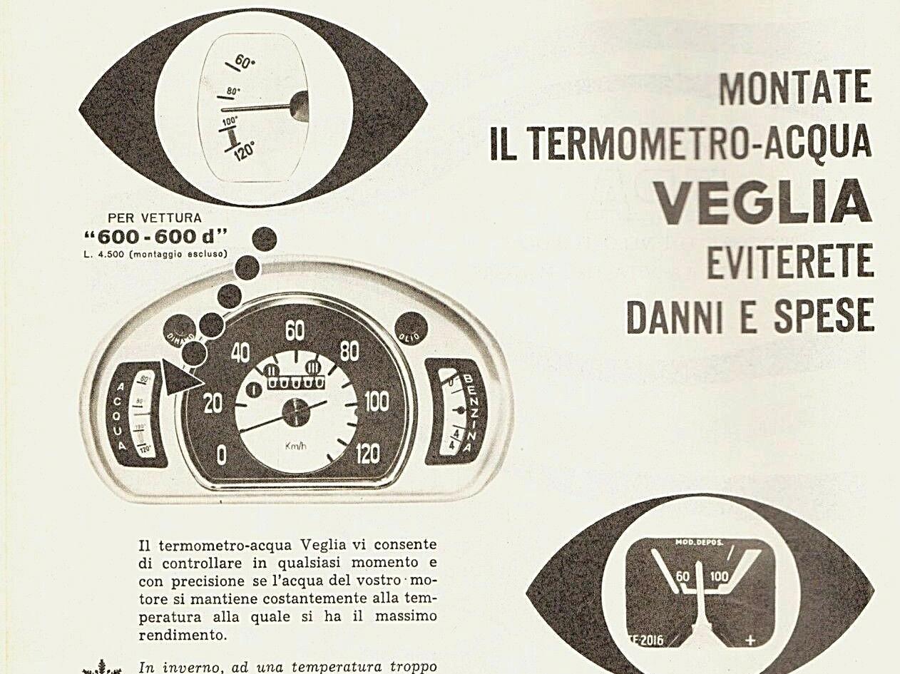 Original Veglia Gauge Advertisement